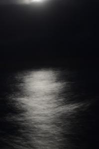 Månedskin i den Engelske Kanal