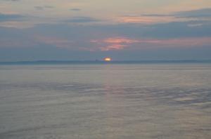solopgang i øresund