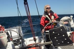 Steering in hard waves
