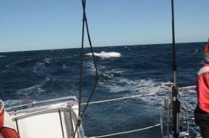 More breaking waves