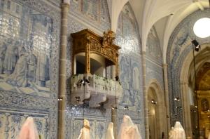 kirke med de så berømte portugisisk tegl