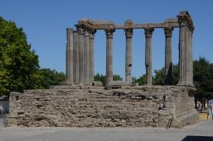 Romersk temple til ære for kejser Augustus