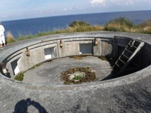 gammel kanon fæstning
